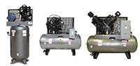 5 to 15 Horsepower (hp) Piston Compressors